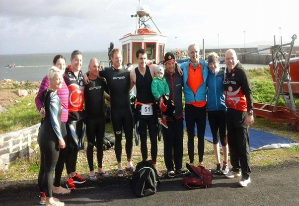 Blacksod 2016 – Some Club Members at the final running of the Event.